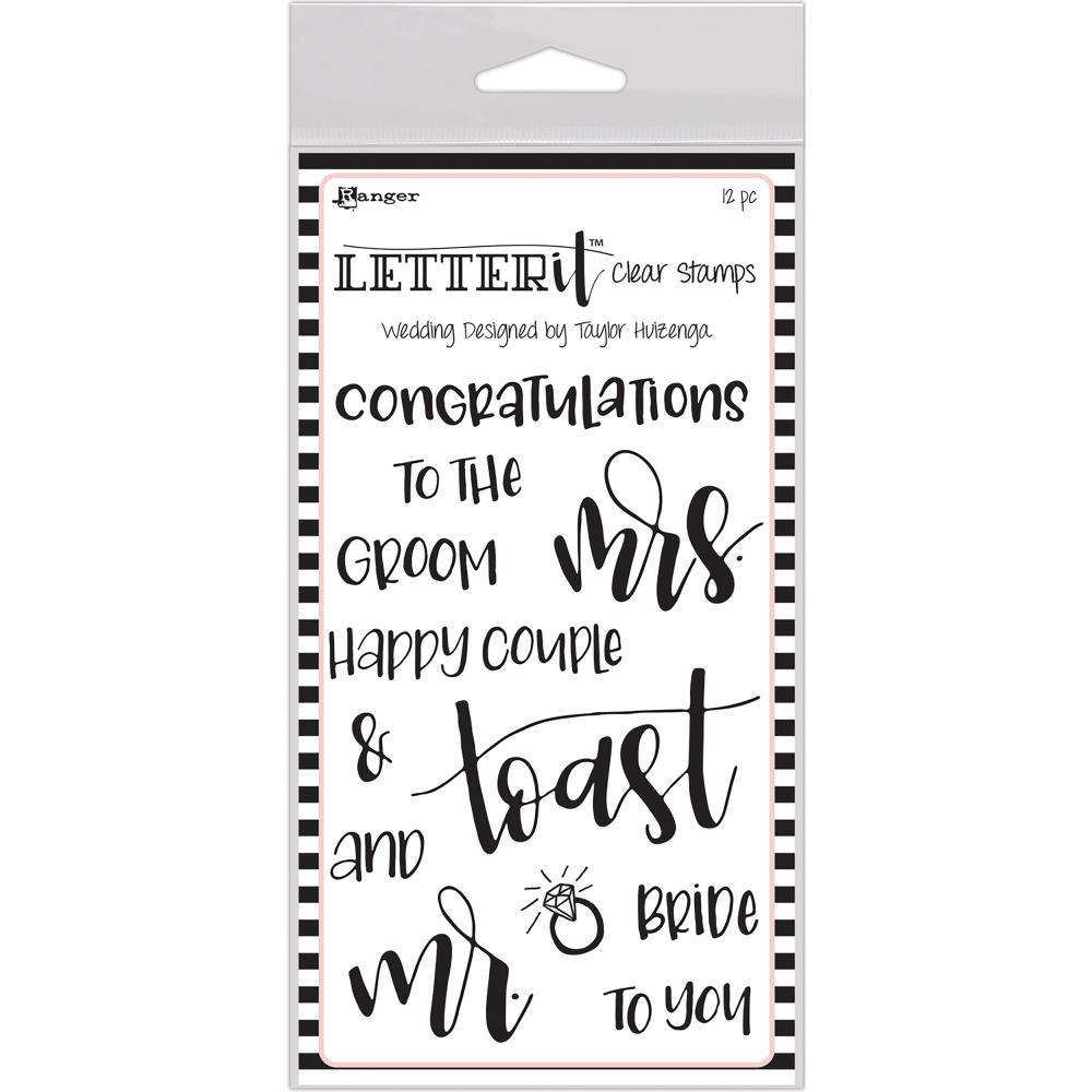 Bild 1 von Letter It™ Clear Stamp Set 4