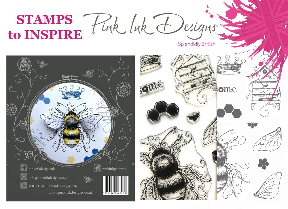 Bild 1 von Pink Ink Designs - Stempel Bee-utiful (Biene)
