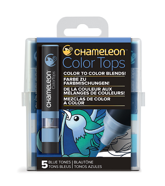 Bild 1 von Chameleon 5 Color Tops Blautöne-Set/Blue Tones Set