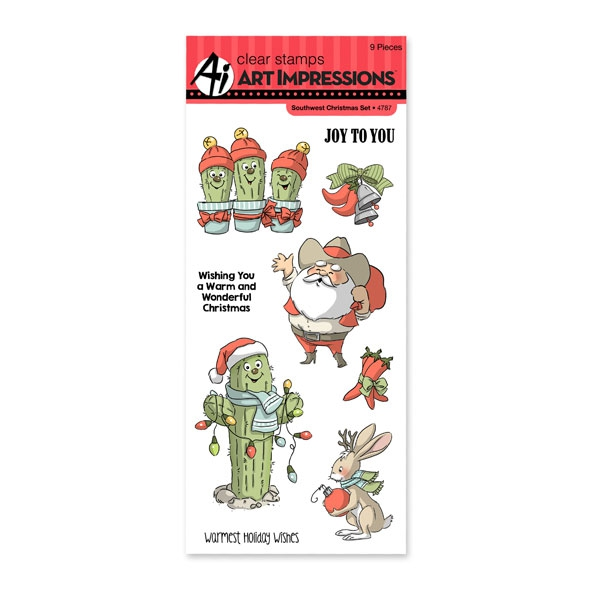 Bild 1 von Art Impressions Clearstamps Southwest Christmas Set