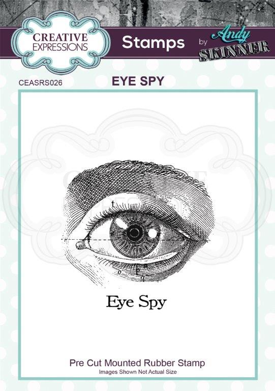 Bild 1 von CE Rubber Stamp by Andy Skinner Eye Spy - Auge