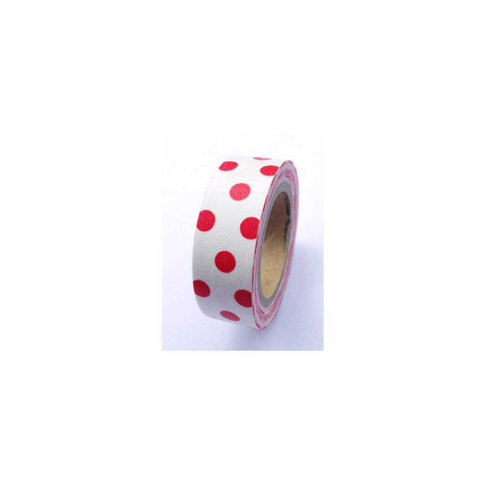 Bild 1 von Love My Tapes Washi Tape Bold Red Polka Dots