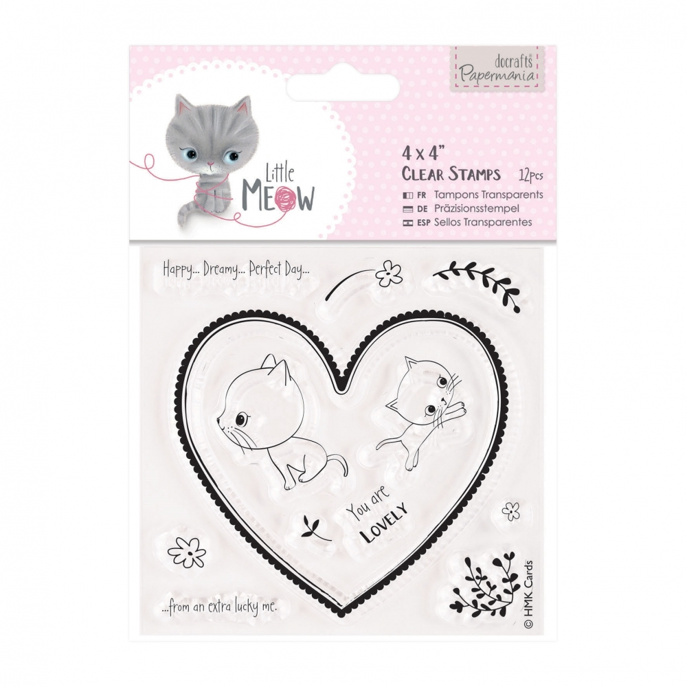 Bild 1 von Papermania Clearstamp - Little Meow - You are lovely