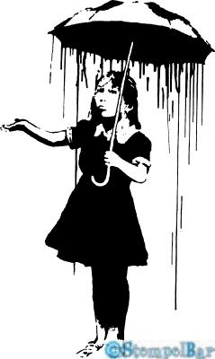 Stempelbar Stempelgummi Mädchen Mit Regenschirm Stempelbar Onlineshop