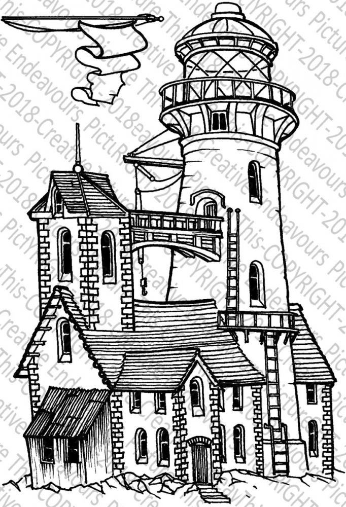 Bild 1 von Picture This Stamps - Stempel Blinking Lighthouse
