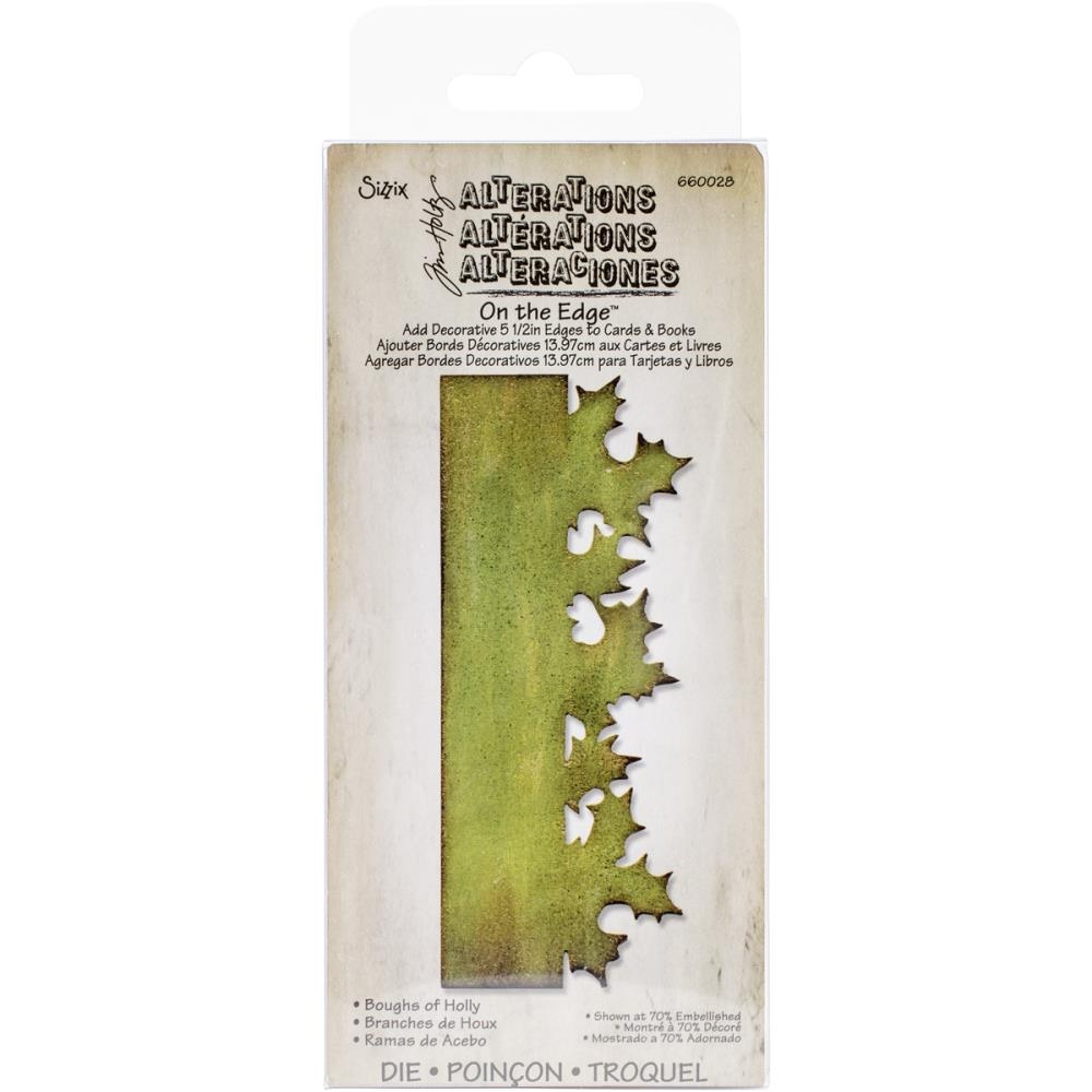 Bild 1 von Tim Holtz Alterations Stanzschablone Sizzix Bigz Die Boughs Of Holly