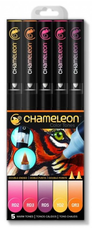 Bild 1 von Chameleon Color Tones - 5 Pen Warm Tones Set
