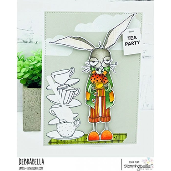 Stamping Bella Cling Stamps-Oddball March Hare