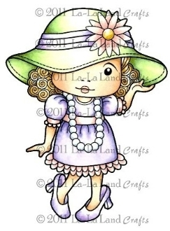 Bild 1 von Gummistempel Dress Up Marci