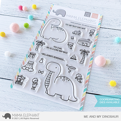 Bild 1 von Mama Elephant - Clear Stamps ME AND MY DINOSAUR