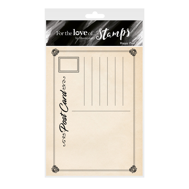 Bild 1 von For the love of...Stamps by Hunkydory - Clearstamps Happy Post