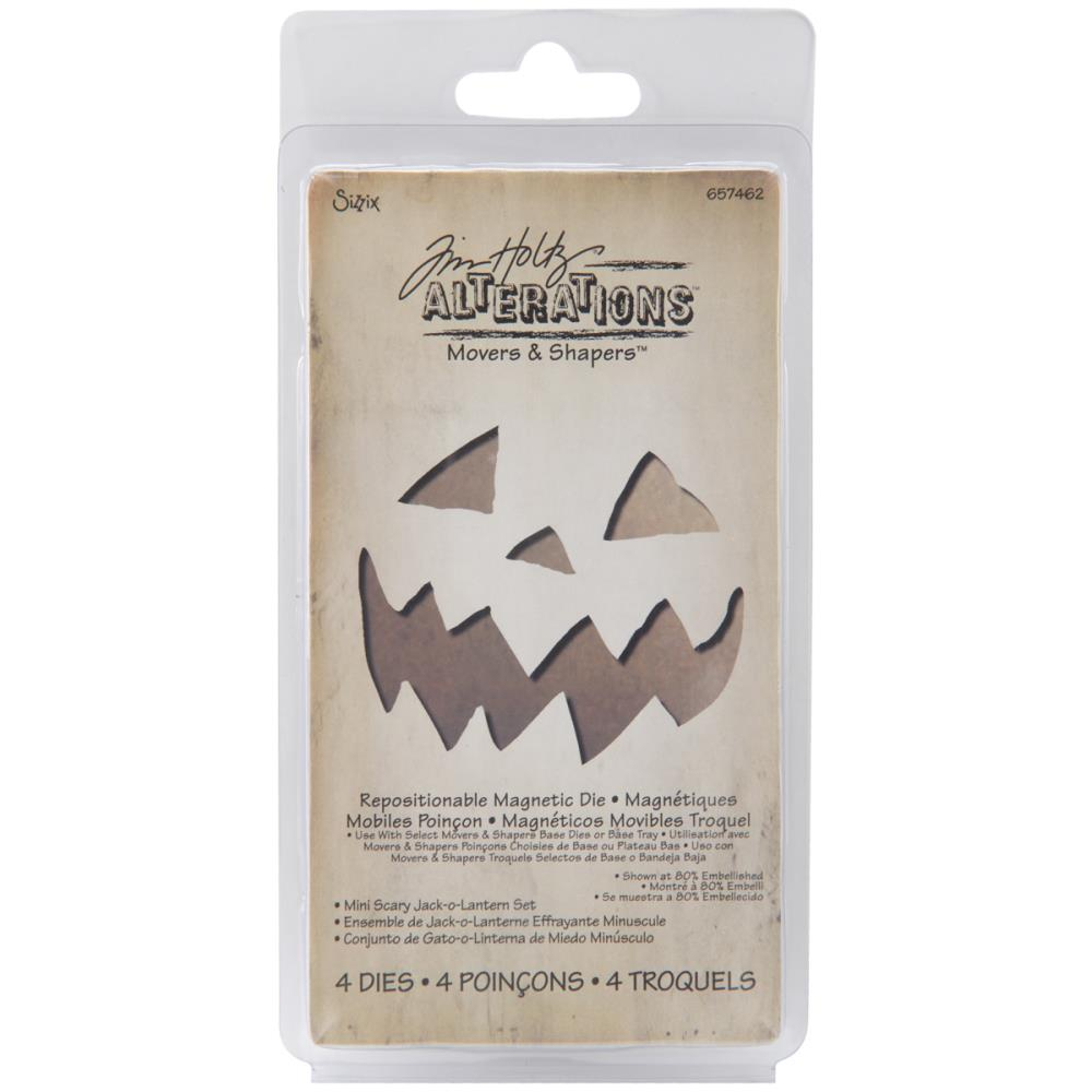 Bild 1 von Tim Holtz Alterations Stanzschablone Movers & Shapers Mini Scary Jack-O-Lantern