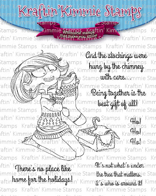 Bild 1 von Kraftin' Kimmie Stamps - Clear Stamps  - Holiday Momma
