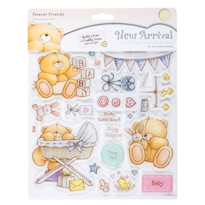 Bild 1 von Clearstamps Forever Friends New Arrival