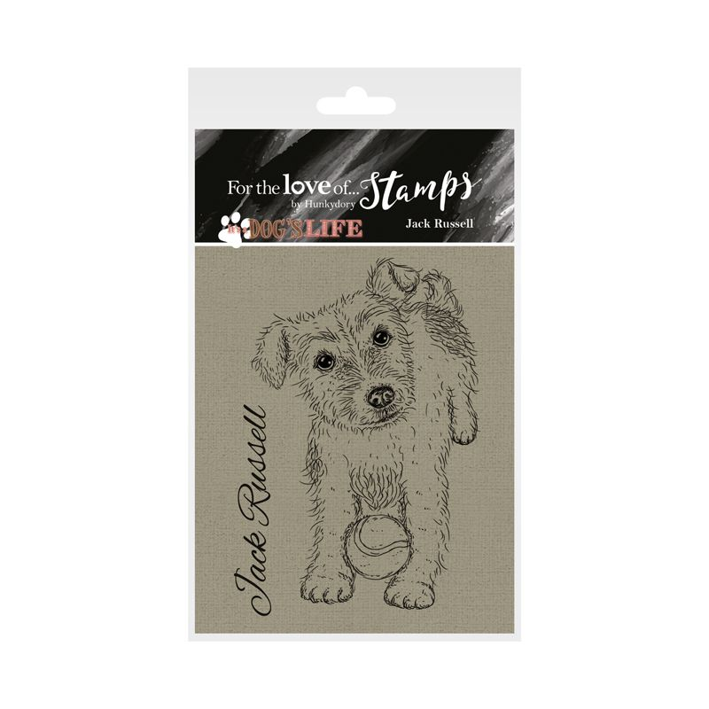 Bild 1 von For the love of...Stamps by Hunkydory - It's a Dog's Life Clear Stamp - Jack Russell