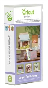 Bild 1 von Cricut Cartridge Software-Kartusche Sweet Tooth Boxes