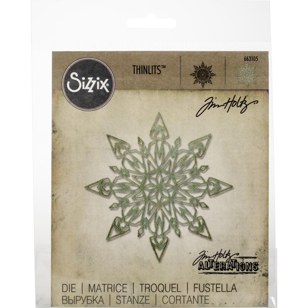 Bild 1 von Sizzix Thinlits Dies Stanzschablone By Tim Holtz Flurry #1
