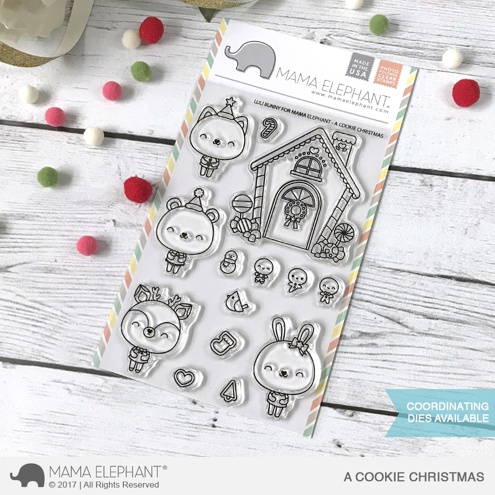Bild 1 von Mama Elephant - Clear Stamps A COOKIE CHRISTMAS
