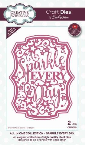 Bild 1 von Creative Expressions Craft Die Stanze - Sue Wilson All in One Sparkle Every Day Craft