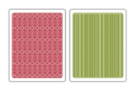 Bild 1 von Sizzix Basic Grey Prägefolder Textured Folders Pepper. Twists & Scal