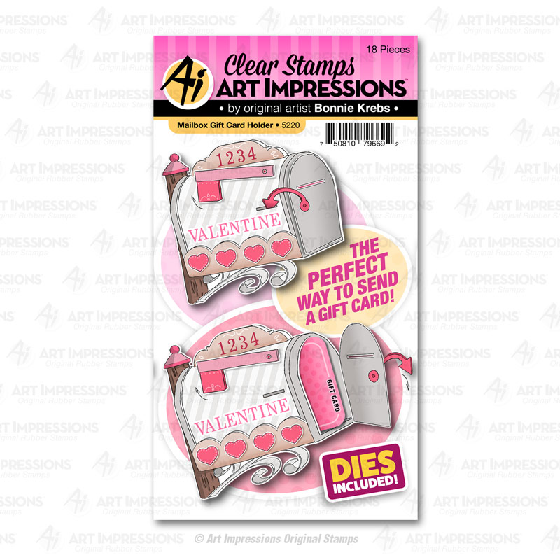 Bild 1 von Art Impressions Stamp & Die Set - Mailbox Gift Card Holder