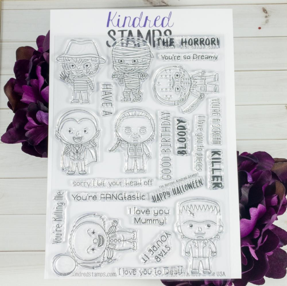 Bild 1 von Kindred Stamps Clearstamps The Horror!