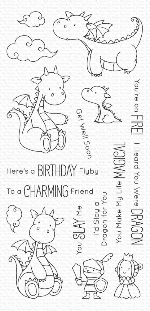 Bild 1 von My Favorite Things - Clear Stamps BB Magical Dragons