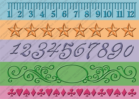 Bild 1 von Cuttlebug Prägefolder Measure By Measure