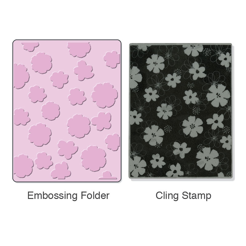 Bild 1 von Stamp & Emboss Mixed Flower Set