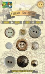 Bild 1 von Vintage Collection Buttons Silver
