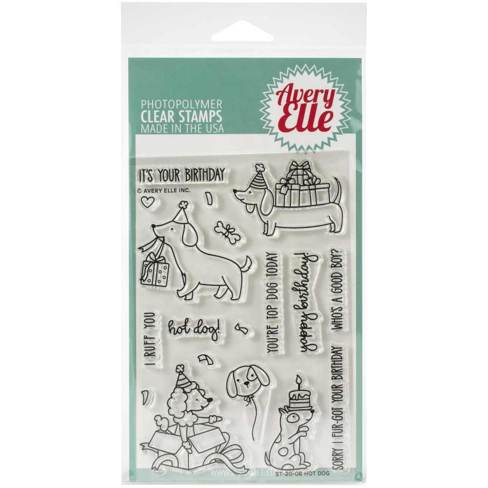 Bild 1 von Avery Elle Clear Stamps - Hot Dog