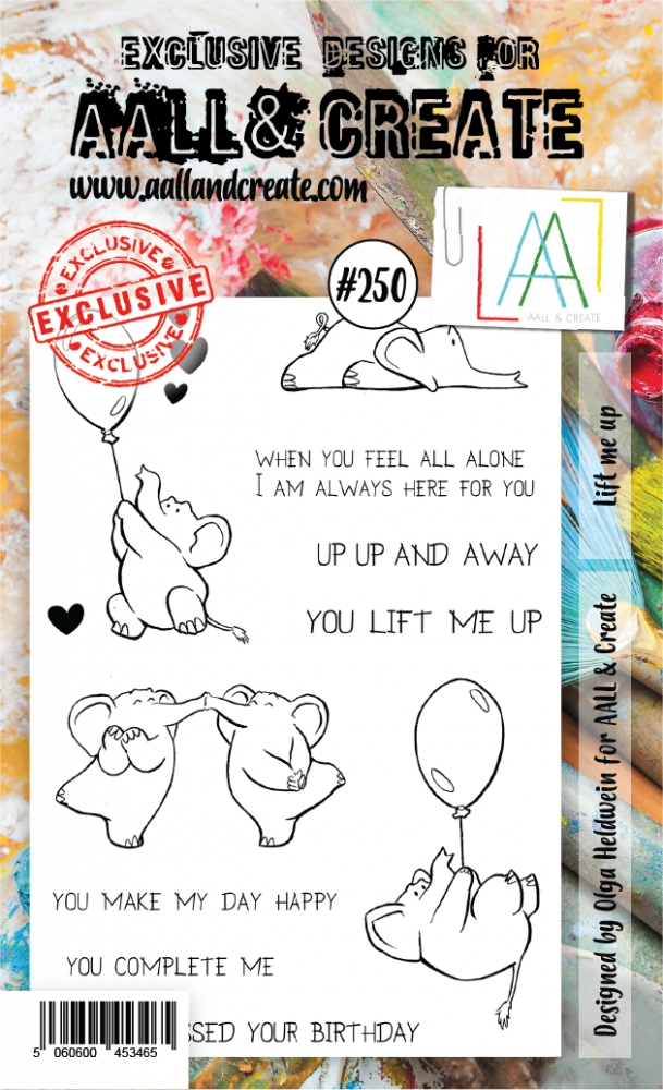 Bild 1 von AALL & Create Clear Stamps  - Lift me up