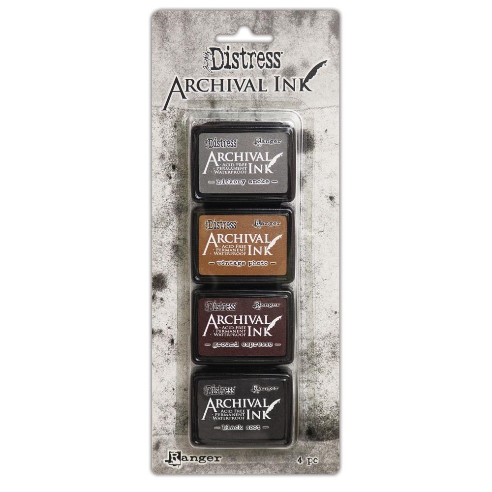Bild 1 von Tim Holtz Distress Archival Mini Ink Kits - Kit #3