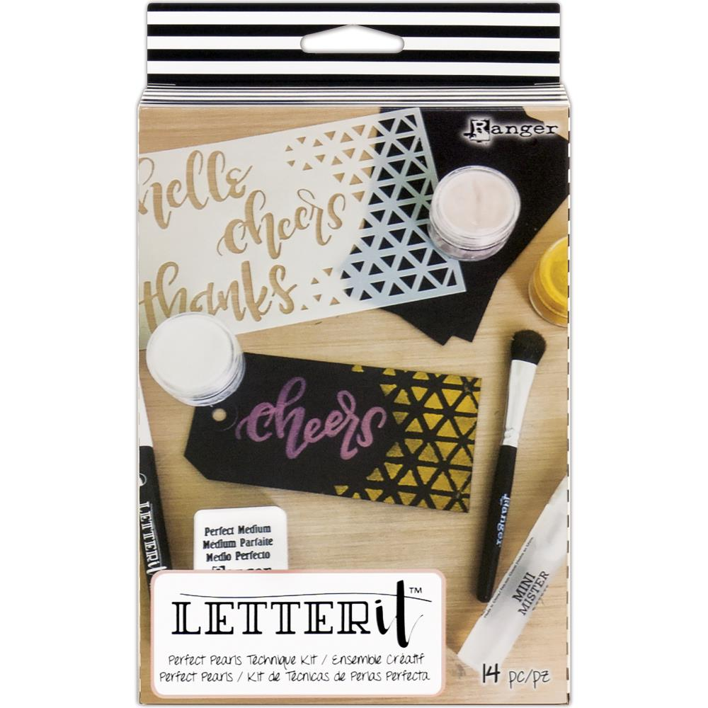 Bild 1 von Letter It™ Perfect Pearl Technique Kit - Perfect Pearl set mit Anleitung