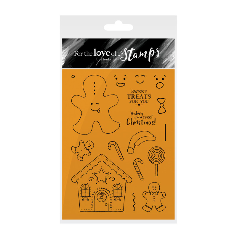 Bild 1 von For the love of...Stamps by Hunkydory - Clearstamps Gingerbread Fun