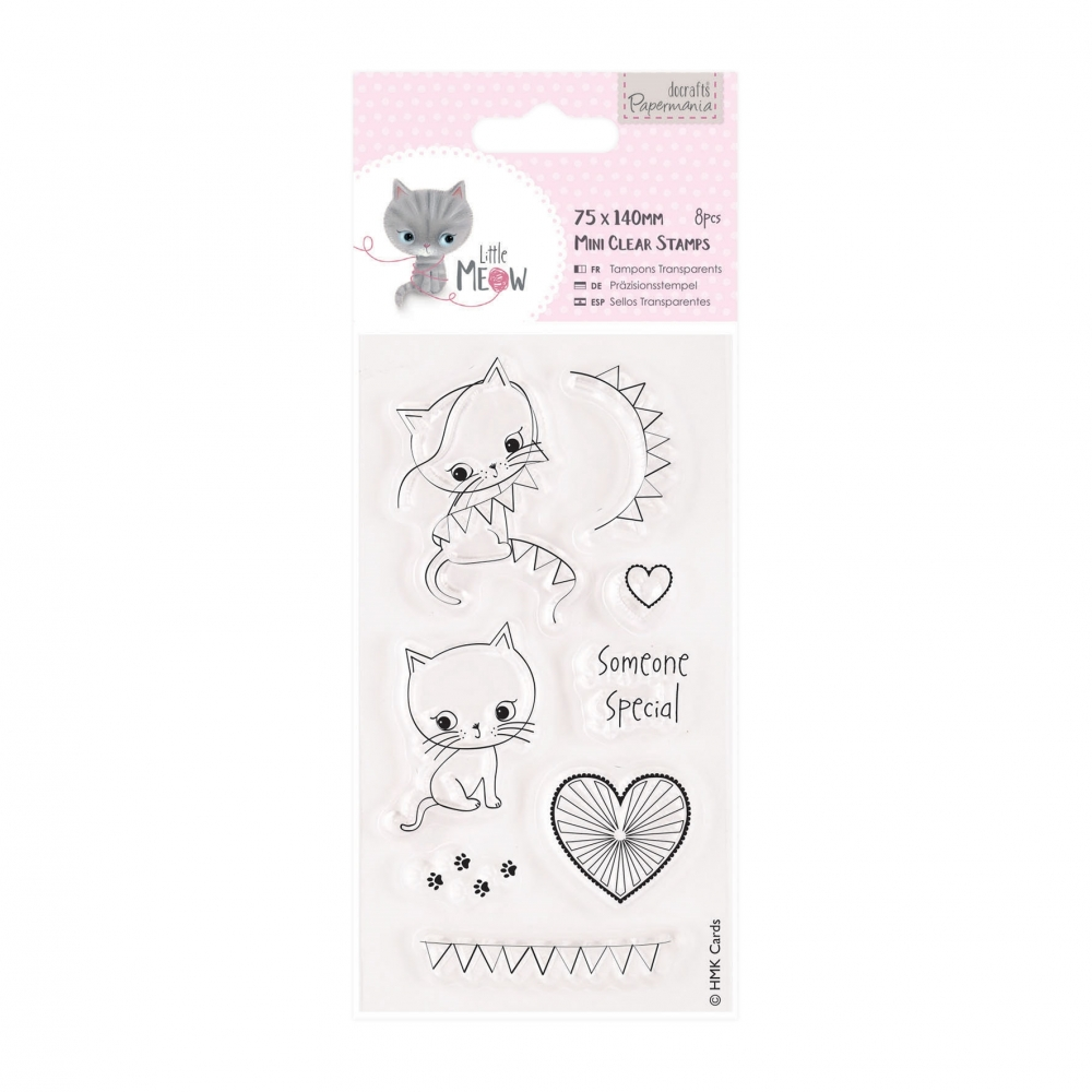 Bild 1 von Papermania Clearstamp - Little Meow - Someone Special