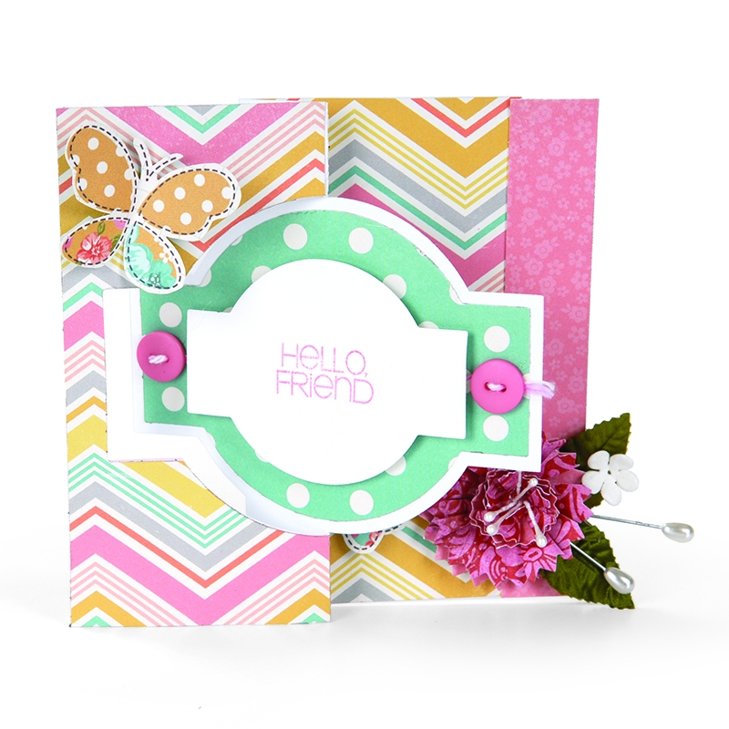 Bild 1 von Sizzix Movers & Shapers L Die Stanzschablone Card, Ornate Flip-its #2