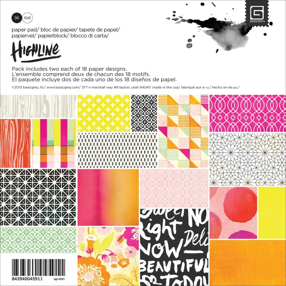 Bild 1 von Basic Grey-Highline Paper Pad