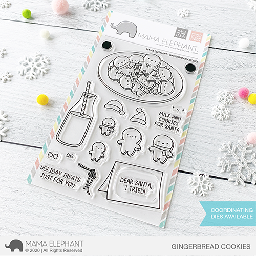 Bild 1 von Mama Elephant - Clear Stamps GINGERBREAD COOKIES