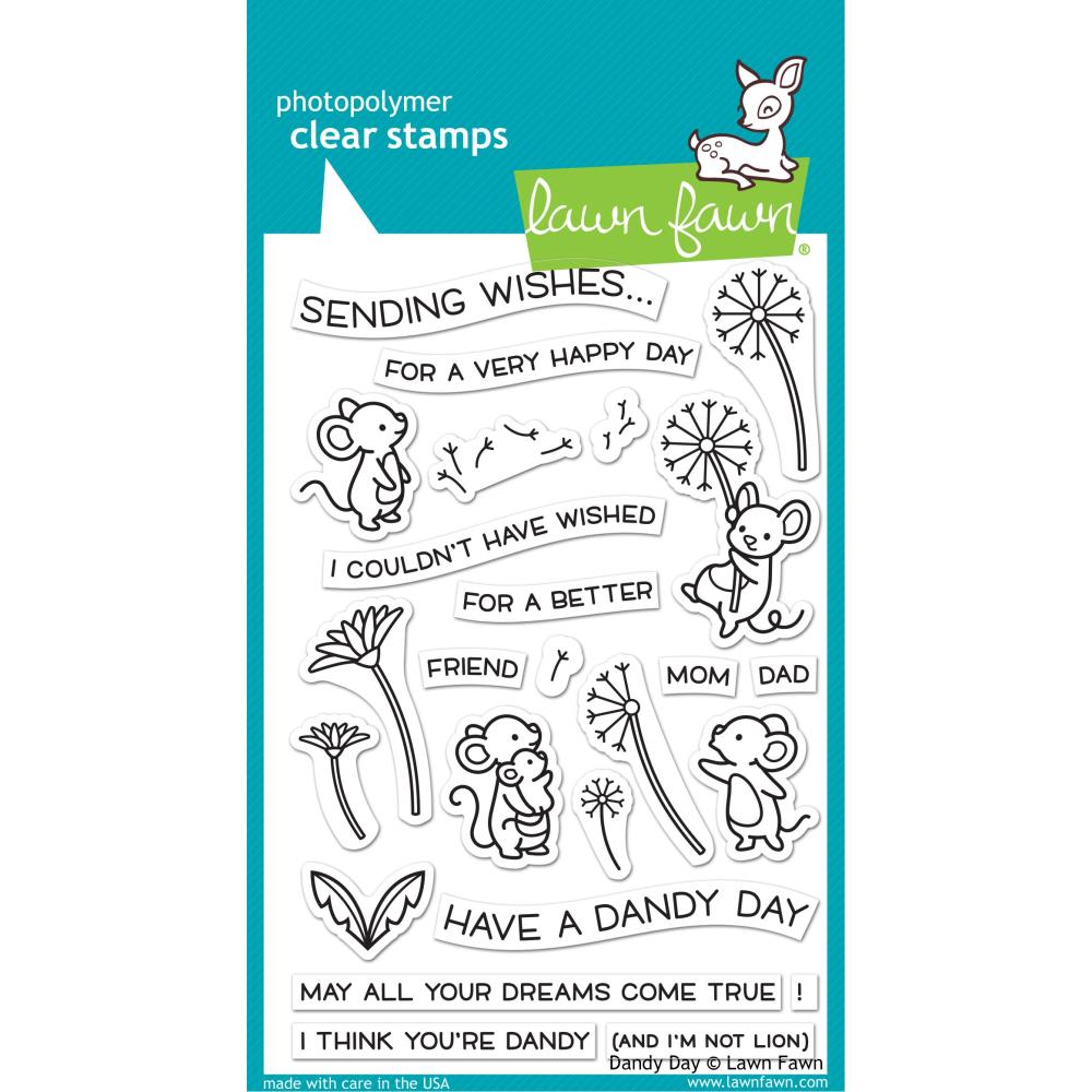 Bild 1 von Lawn Fawn Clear Stamps  - Clearstamp Dandy Day