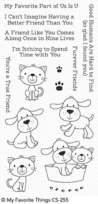 Bild 1 von My Favorite Things - Clear Stamps Furever Friends