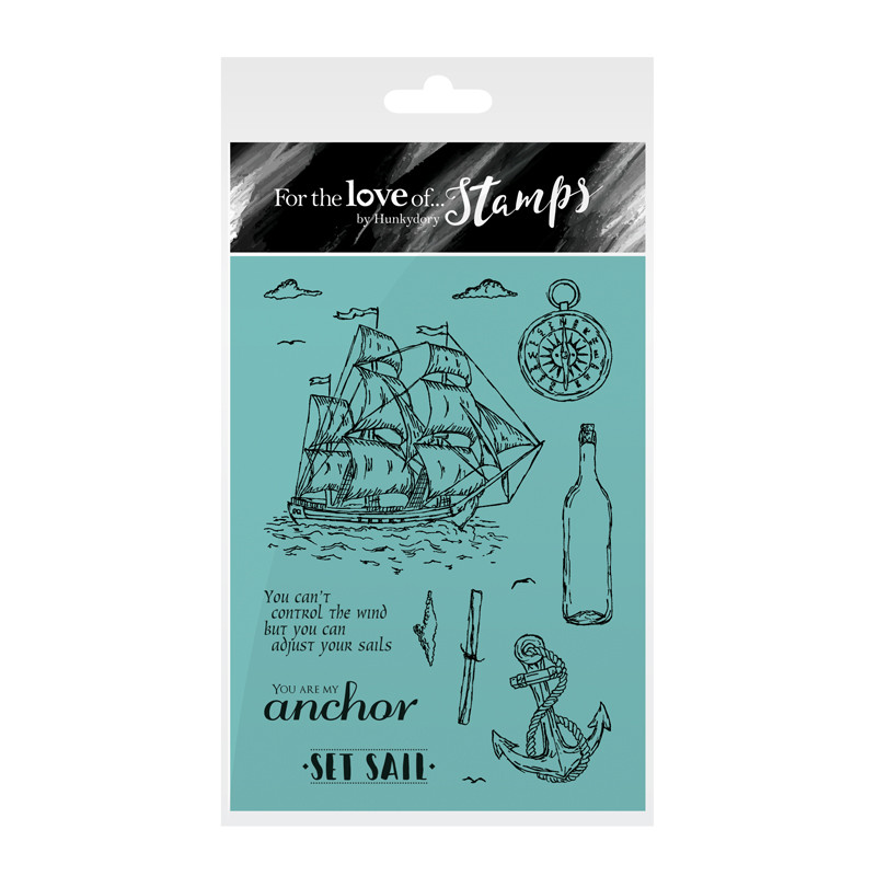 Bild 1 von For the love of...Stamps by Hunkydory - Clearstamps Set Sail