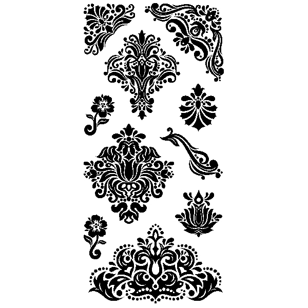 Bild 1 von Clearstamps Damask Motifs & Borders
