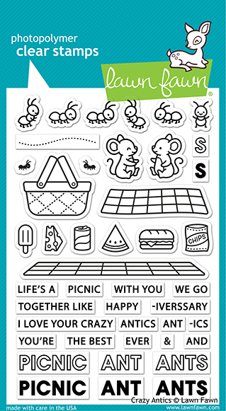 Bild 1 von Lawn Fawn Clear Stamps  - Clearstamp Crazy Antics