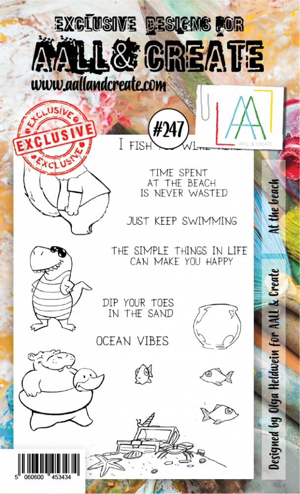 Bild 1 von AALL & Create Clear Stamps  - At the beach
