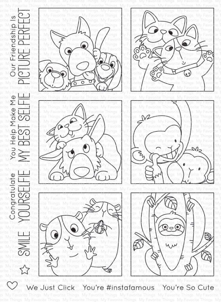 Bild 1 von My Favorite Things - Clear Stamps BB Picture Perfect - Perfekte Fotos