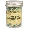 Stampendous Crushed Glass Glitter Fresh Green