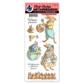 Art Impressions Clear Stamps Basket of Blessings Set