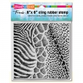 Cling Rubber Stamps - Wild Texture Rubber Stamp