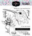 Colorado Craft Company Clear Stamps - Big & Bold~Hummingbird Delight